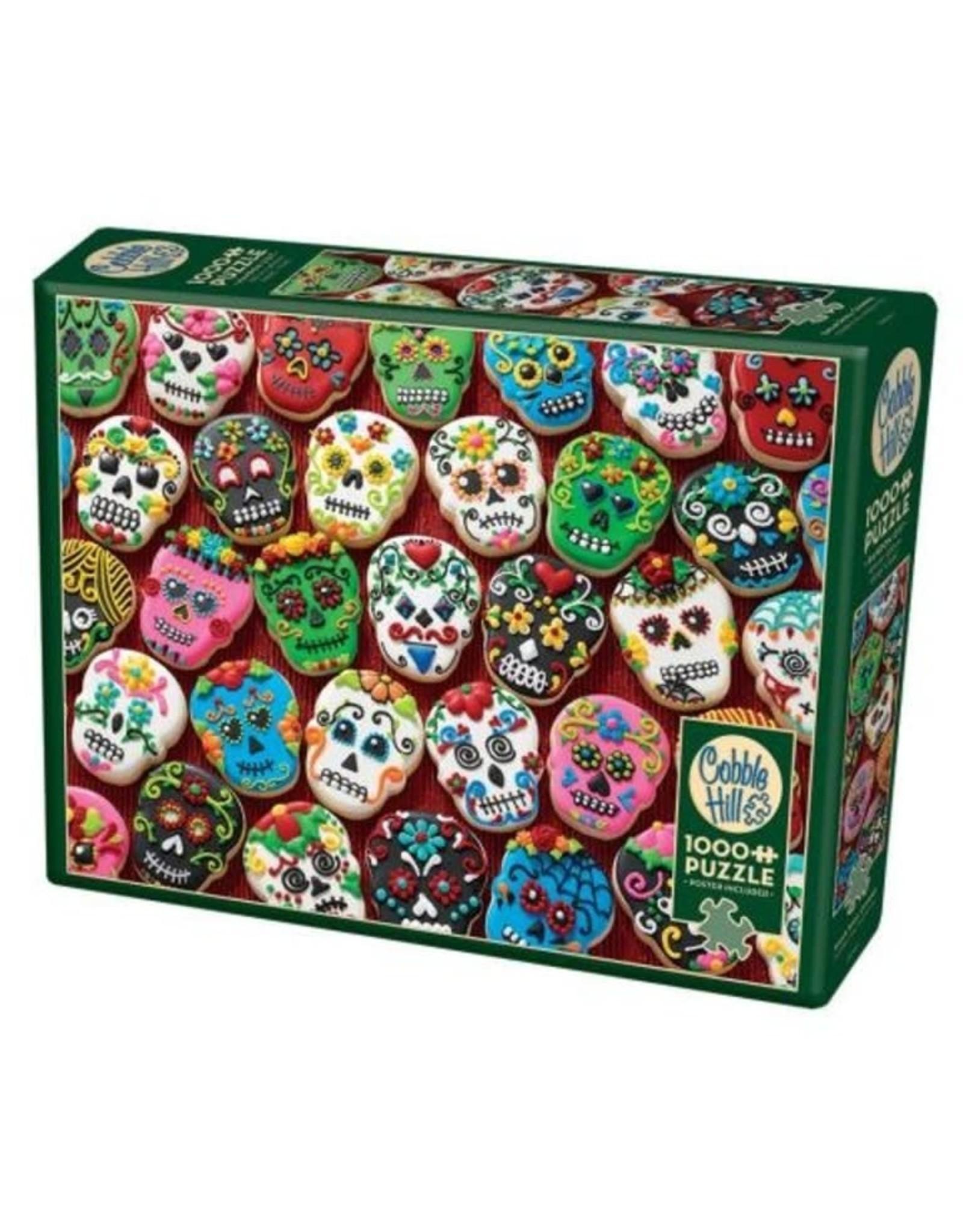 Cobble Hill Sugar Skull Cookies 1000 PC