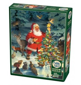Cobble Hill Santa's Tree 1000 PC