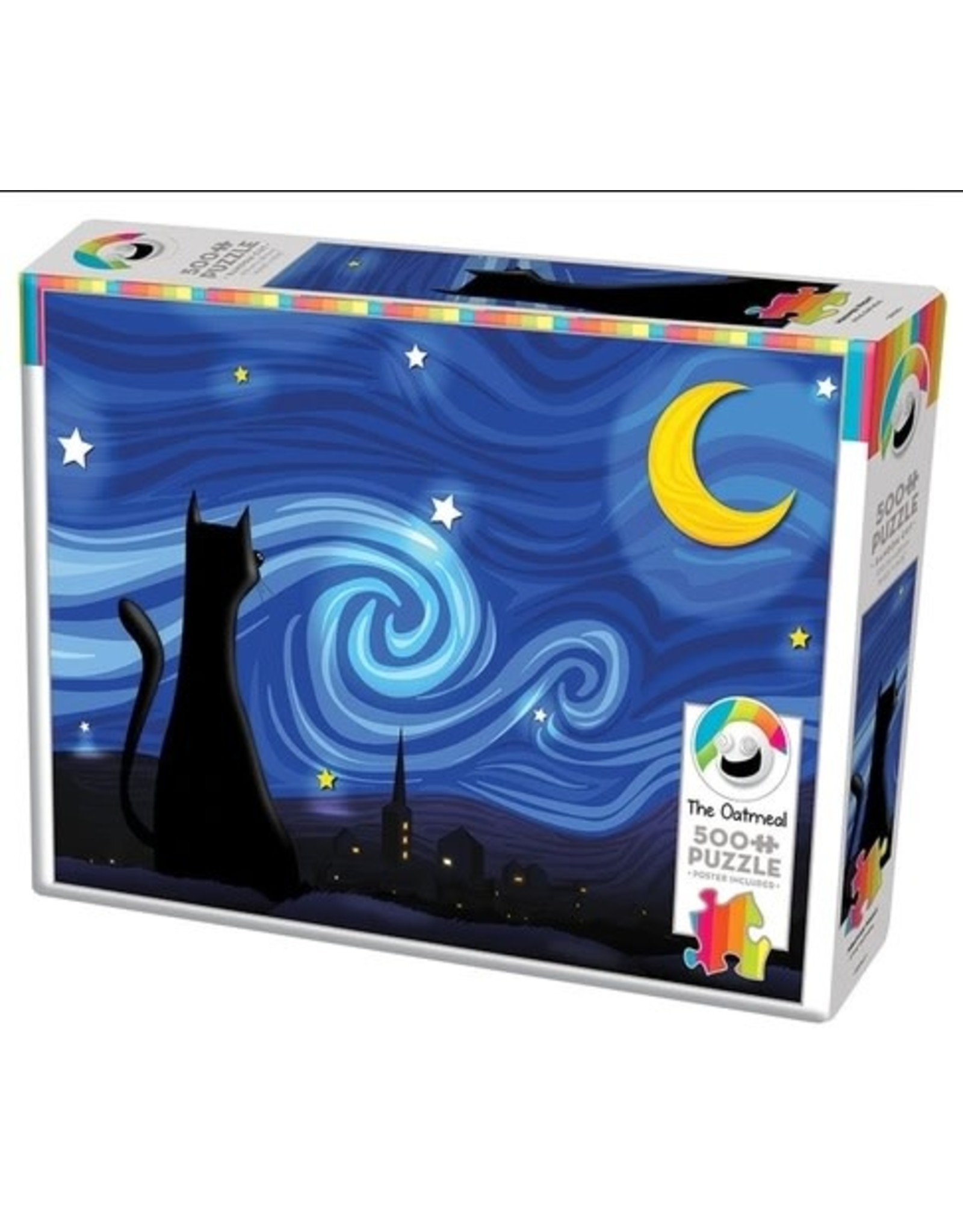 Cobble Hill Mrowwy Night  500 PC