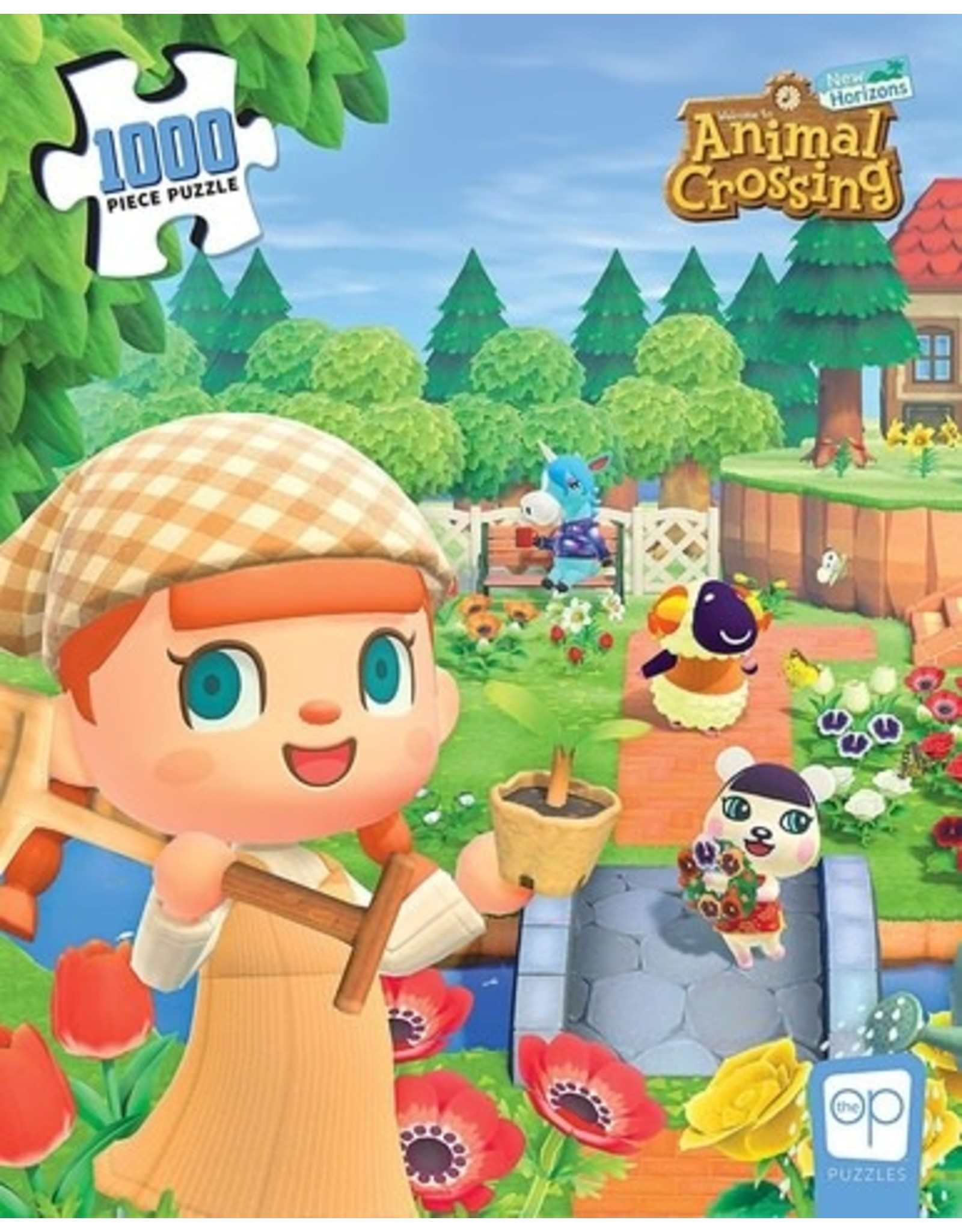 """OP Animal Crossing """"New Horizons"""" Puzzle 1000 Pc"""