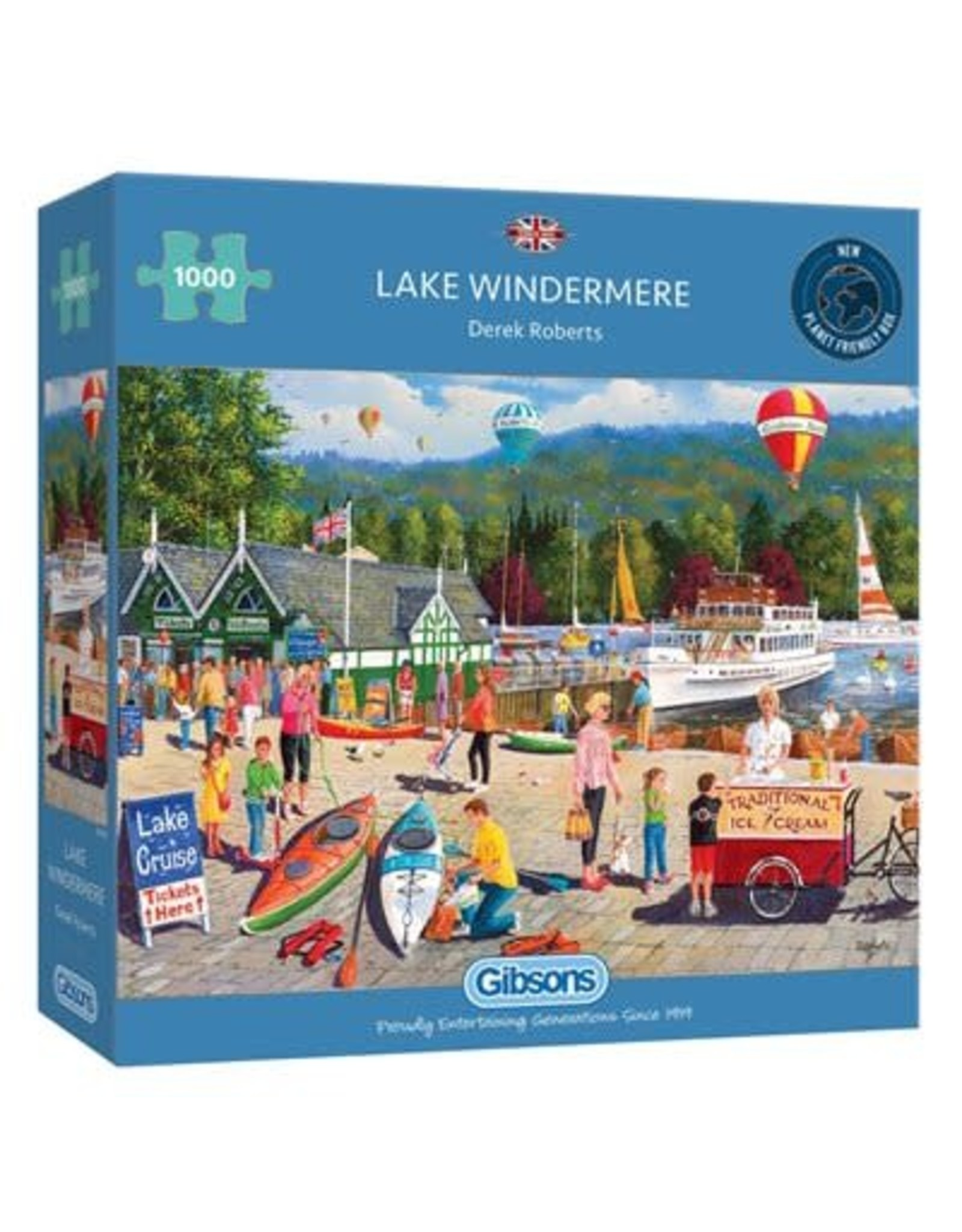 Gibsons Lake Windermere  Puzzle 1000 Pc