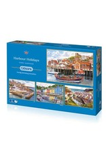 Gibsons Harbour Holidays ( 4 Puzzles) 500 Pc