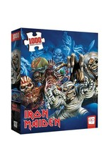 """USAopoly Iron Maiden """"Faces Of Eddie"""" Puzzle 1000 Pc"""