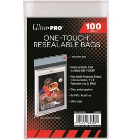 Ultra Pro 1Touch Resealable bag 100Ct
