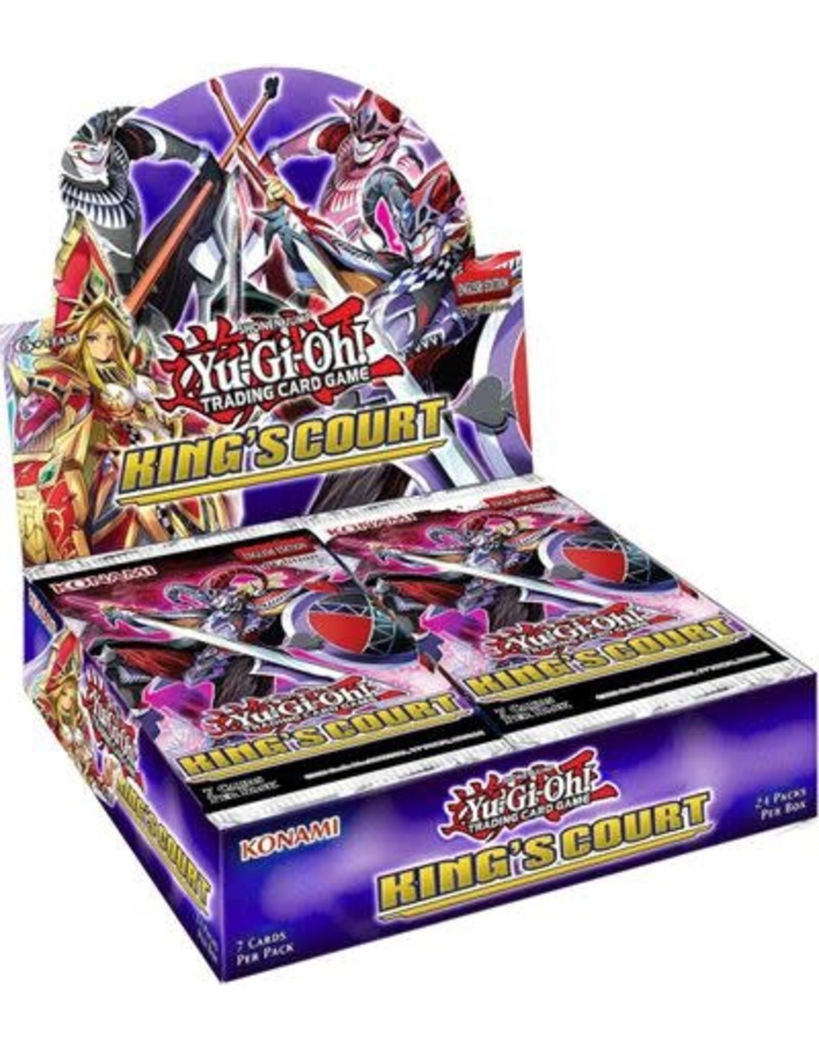 Konami King's Court Booster Box