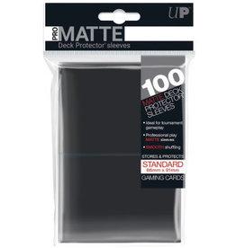 Ultra Pro Ultra Pro Matte 100 Ct - Black