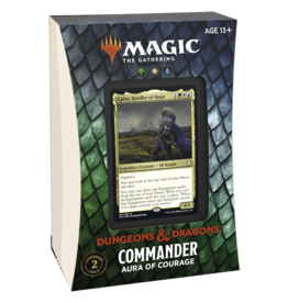 Wizards of the Coast Adventures in the Forgotten Realms Commander - Aura of Courage