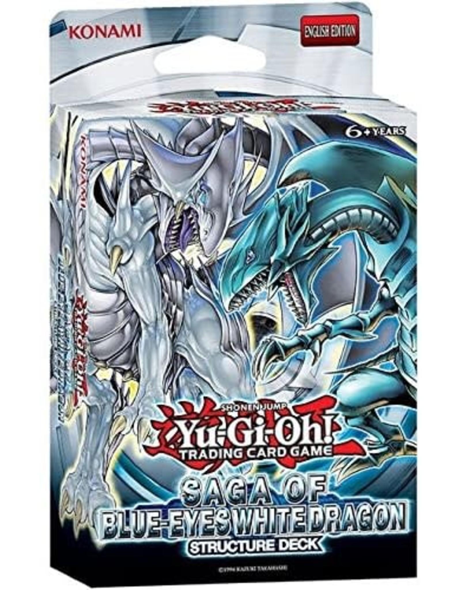 Konami Saga of Blue-Eyes White Dragon Structure Deck