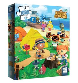 """OP Animal Crossing """"Welcome to Animal Crossing"""" Puzzle 1000 Pc"""