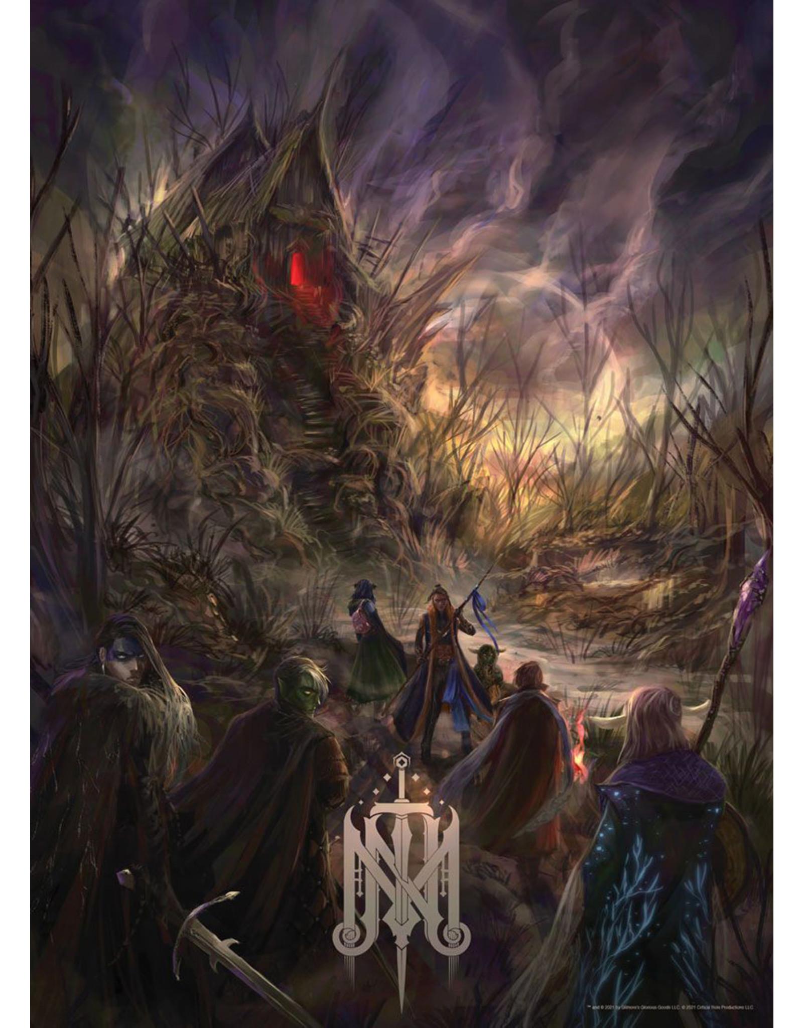 Critical Role Critical Role: Mighty Nein Isharnai's Hut 1000 Pc Puzzle