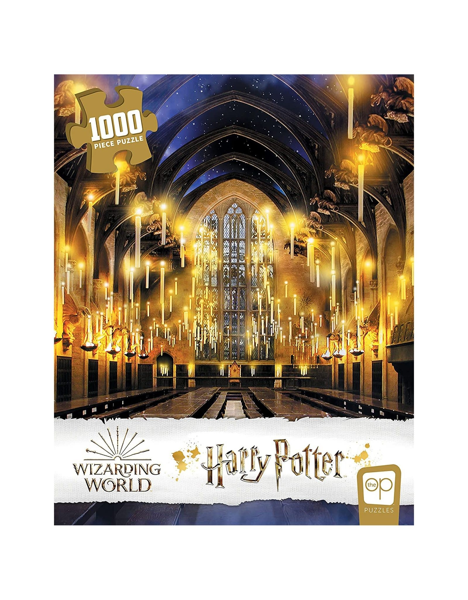 """USAopoly Harry Potter """"Great Hall"""" 1000 Pc Puzzle"""