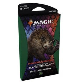 Wizards of the Coast Adventure in the Forgotten Realms Theme Booster - Green