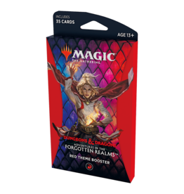 Wizards of the Coast Adventure in the Forgotten Realms Theme Booster - Red