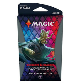 Wizards of the Coast Adventure in the Forgotten Realms Theme Booster - Black
