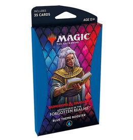 Wizards of the Coast Adventure in the Forgotten Realms Theme Booster - Blue