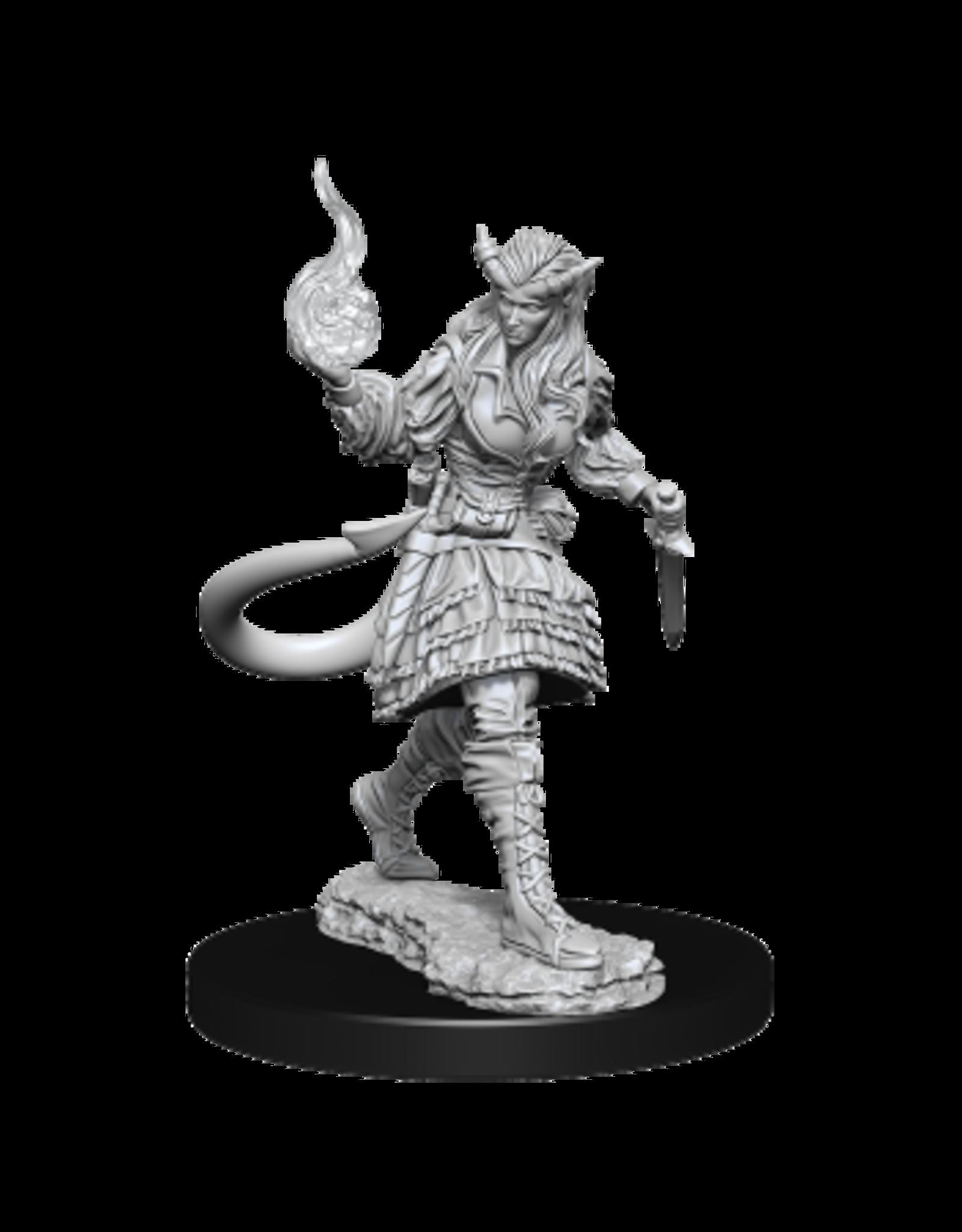 WizKids Female Tiefling Sorcerer - Wave 15