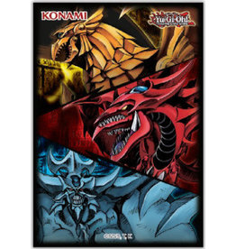 Konami Slifer Obelisk & Ra Card Sleeves (50)