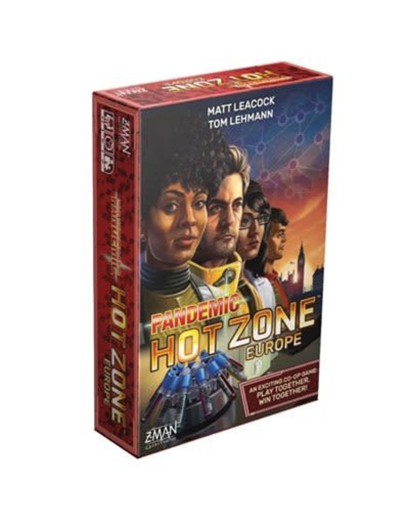 Z-Man Games Pandemic Hot Zone - Europe