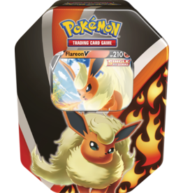 Pokemon Eevee Evolutions V Tin - Flareon