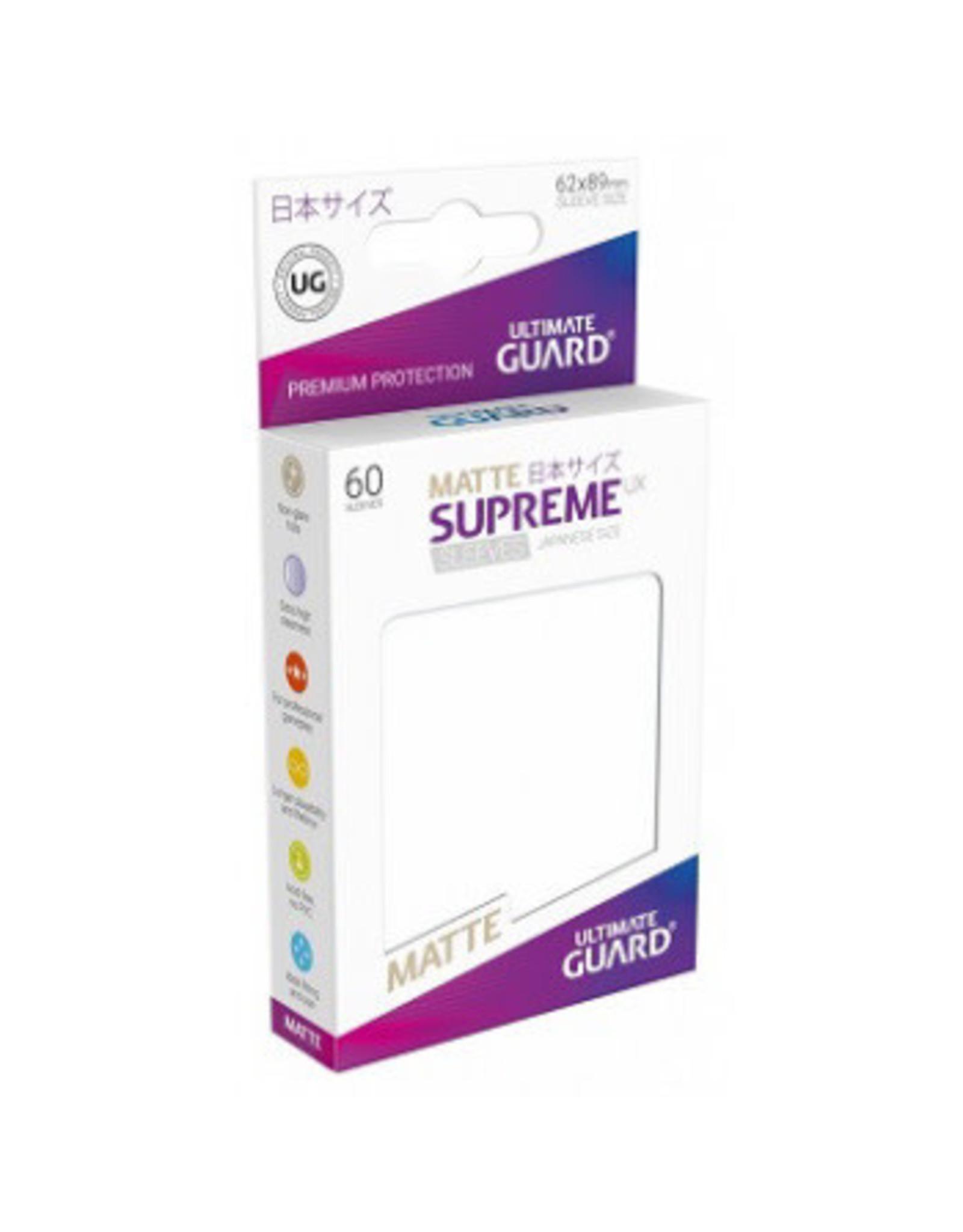 Ultimate Guard UG Small Sleeves Supreme Matte UX (60 CT) -