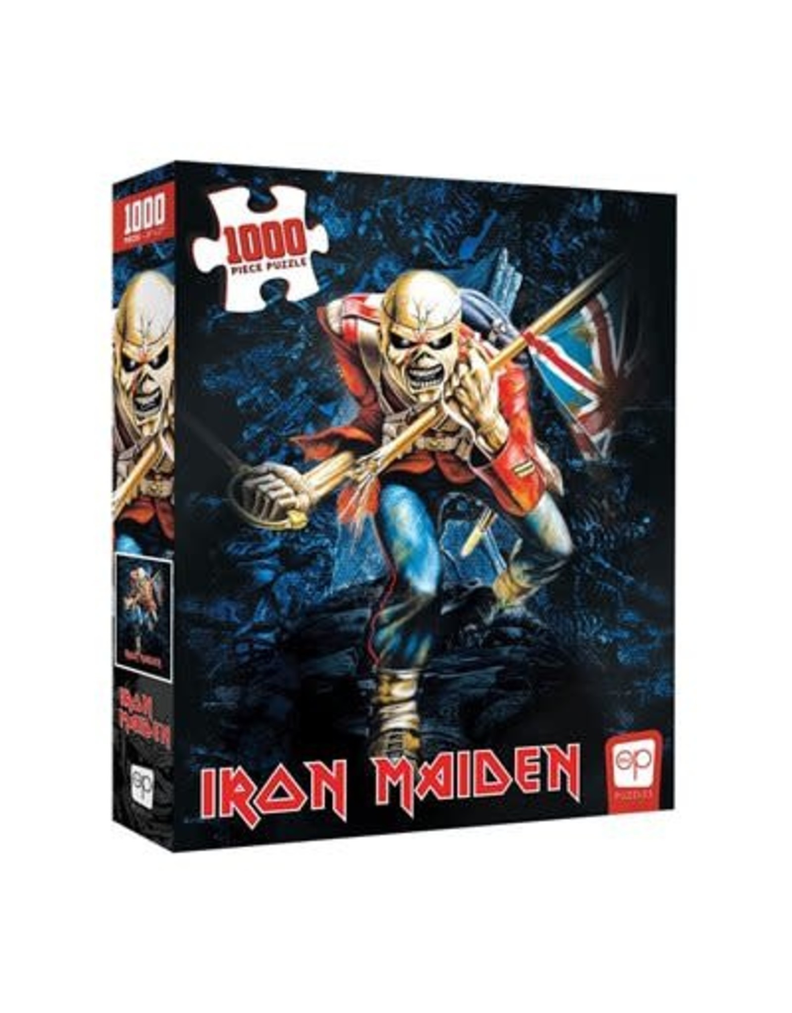 """USAopoly Iron Maiden Puzzle """"The Trooper"""" 1000 Pc"""