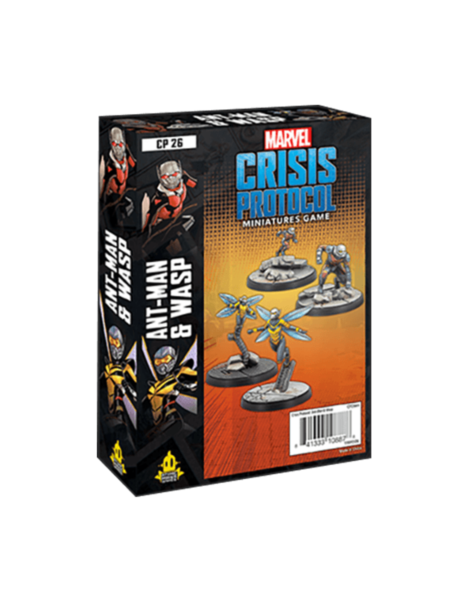 Atomic Mass Games Marvel Crisis Protocol: Ant-Man And Wasp Character Pack