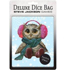 Steve Jackson Games Dice Bag - Festive Owl