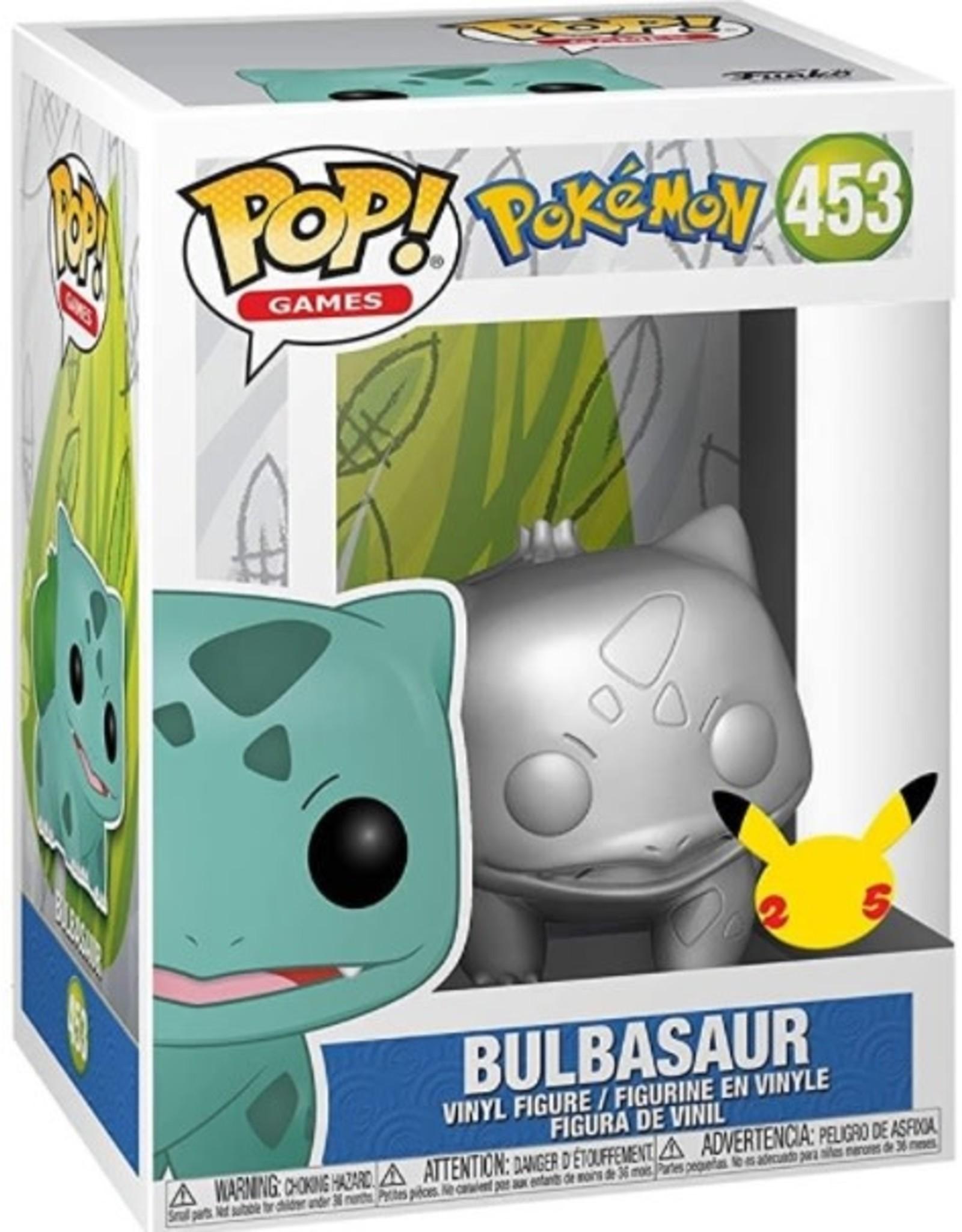 Funko Pop Pop! Figure Pokemon - Metallic Bulbasaur
