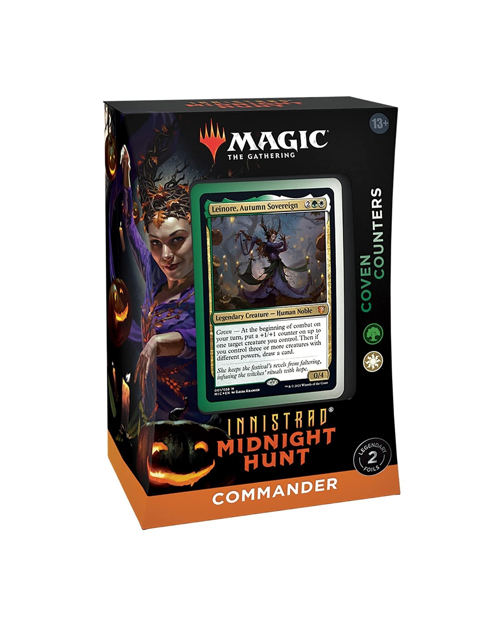 Wizards of the Coast Innistrad Midnight Hunt Commander Deck - Coven Counters