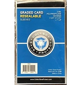 Collect Save Protect Grades Card Sleeves (100 ct)