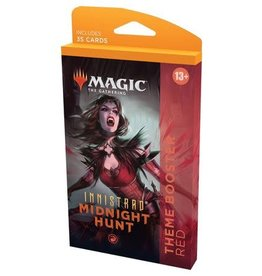 Wizards of the Coast Innistrad Midnight Hunt Theme Booster - Red
