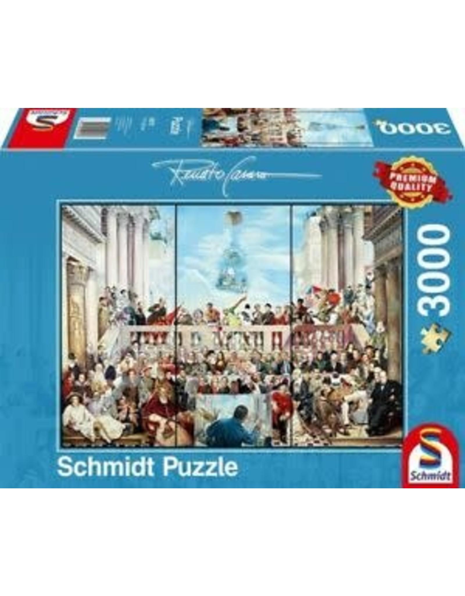 Schmidt Schmidt Puzzle:Transit Gloria Mundi 3000 Pieces