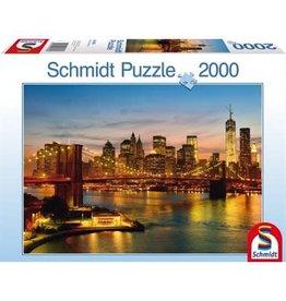 Schmidt Schmidt Puzzle: New York  2000 Pieces