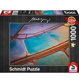 Schmidt Schmidt Puzzle: Mark Gray Pastels 1000 Pieces