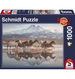 Schmidt Schmidt Puzzle: Horses in Cappadocia 1000 Pieces