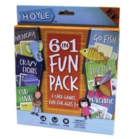 Hoyle Hoyle 6-in-1 Fun Pack