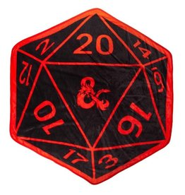 Bioworld D&D - Black/Red Shaped Dice Throw