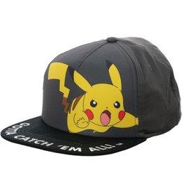 Bioworld Pikachu - Youth Grey Snapback
