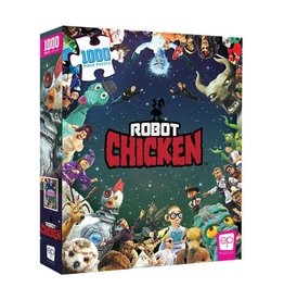 USAopoly Robot Chicken 1000 Pieces