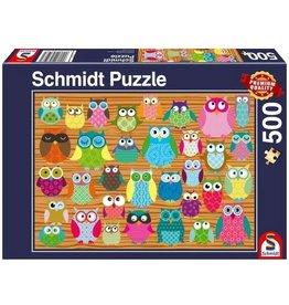Schmidt Puzzle: Owls 500 pieces