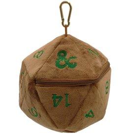 Ultra Pro Dice Bag D20 Plush Copper/Green