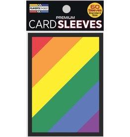 Player's Choice Rainbow Sleeves 60