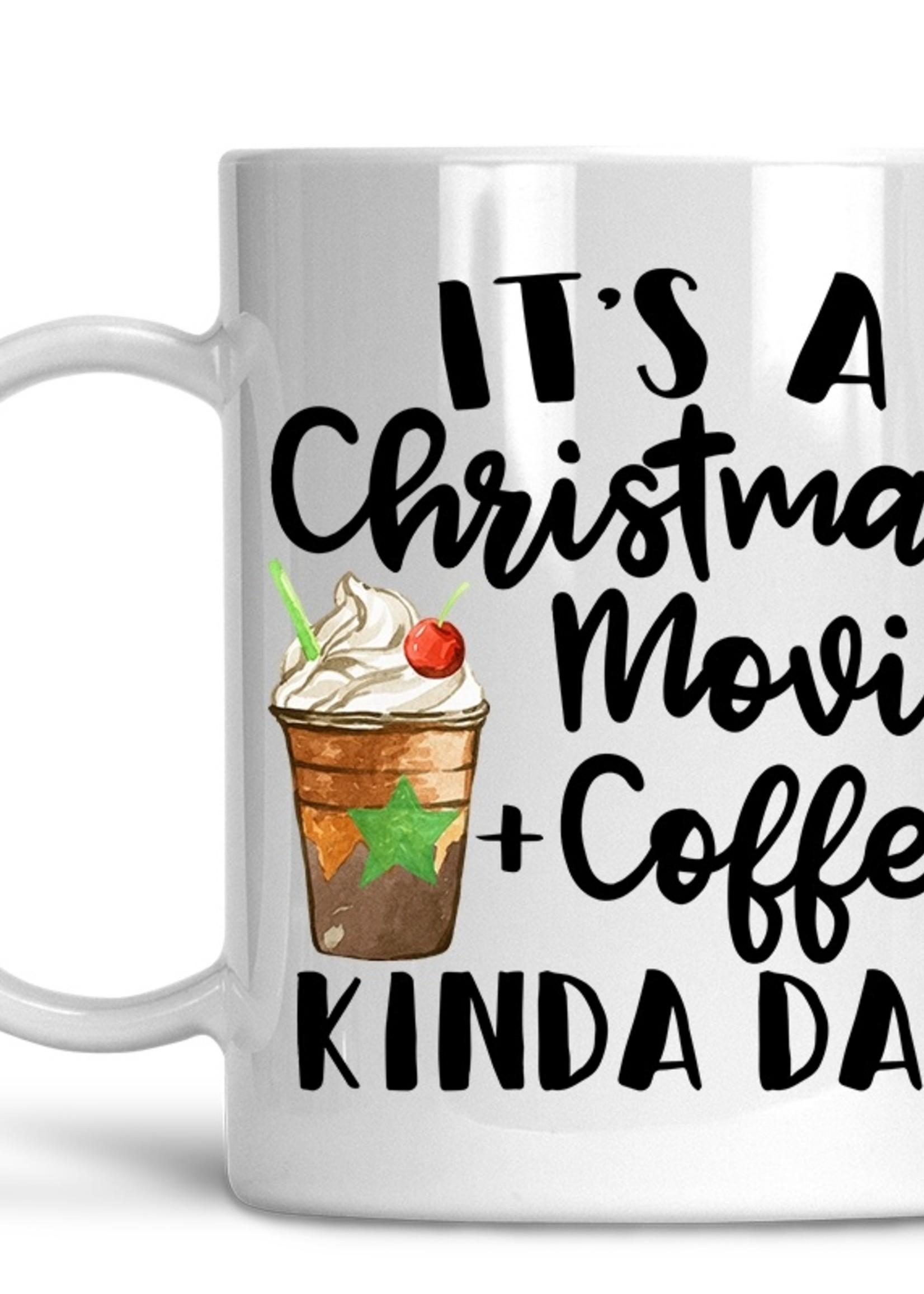 Movie and Coffee Kinda Day - Christmas Coffee Mug