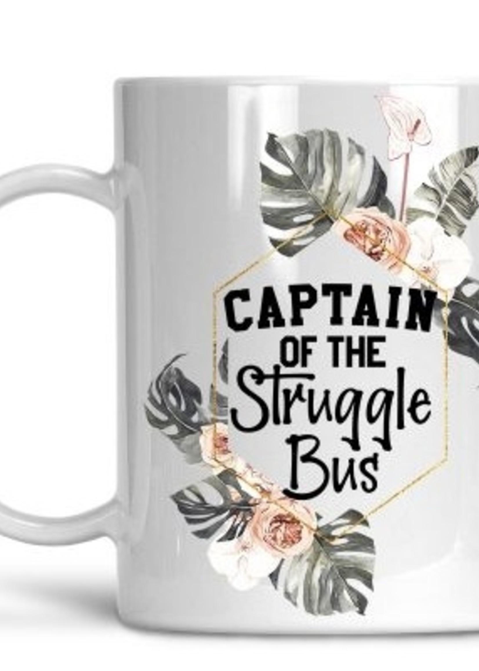 Captain Of The Struggle Bus - Coffee Mug