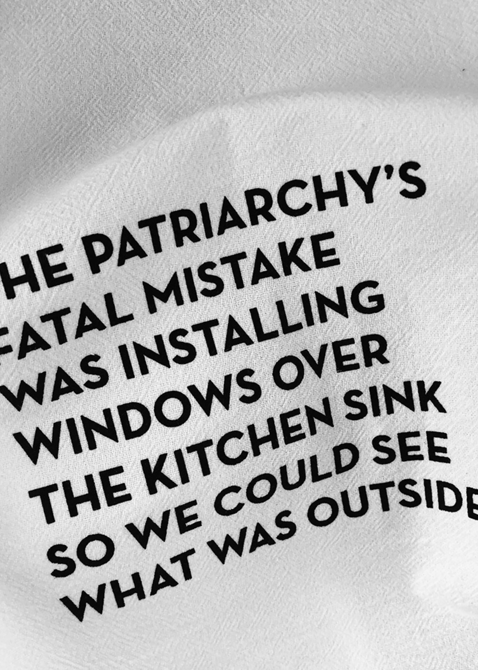Kitchen Window Tea Towel