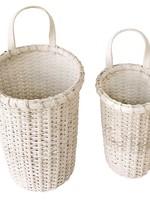 Wall/Shelf Basket, White