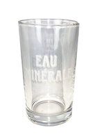 Eau Minerale Mineral Water Drinking Glass