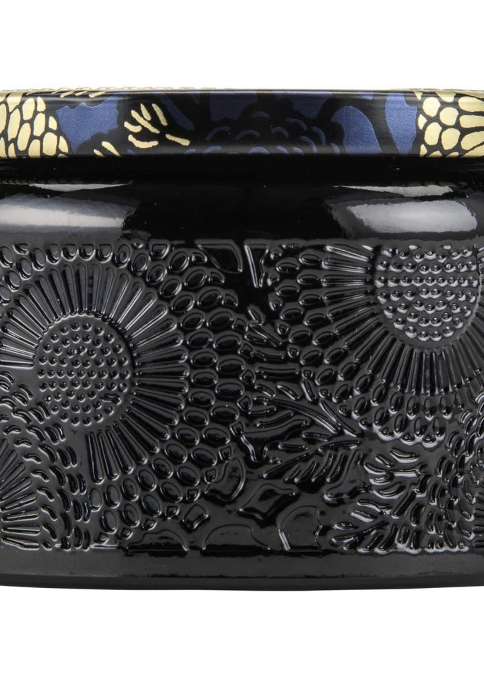 Moso Bamboo Small Glass Jar Candle