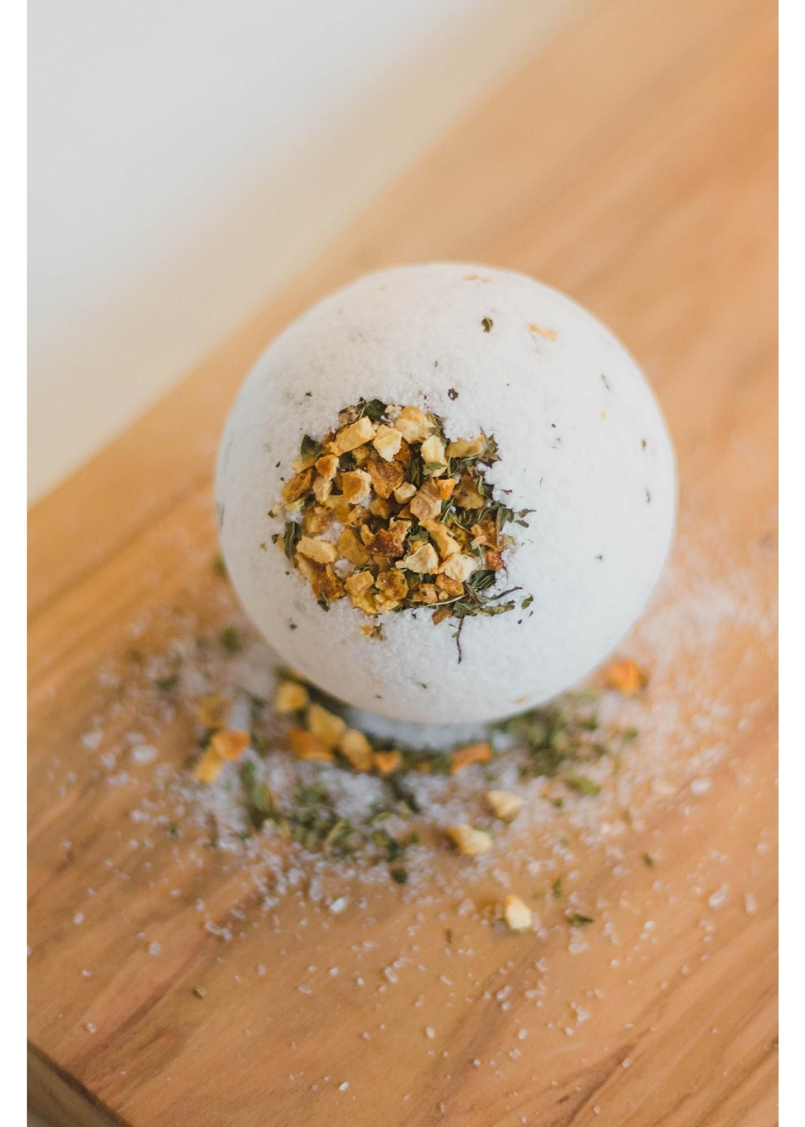 Citrus Mint Bath Bomb - 7 oz - Vegan