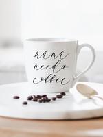 Mama Needs Coffee Ceramic Coffee Mug